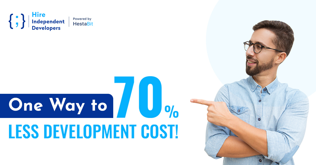 70% Less Development Cost