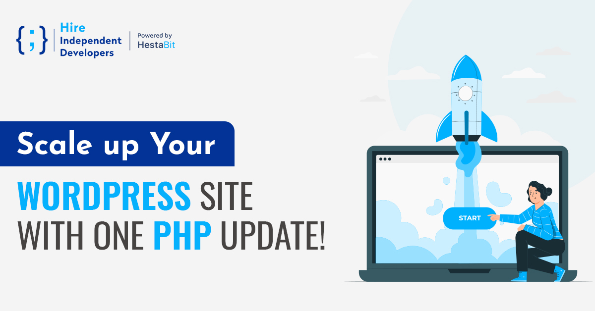 Scale up your Wordpress site with one php update