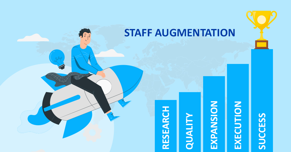 steps of staff augmentation