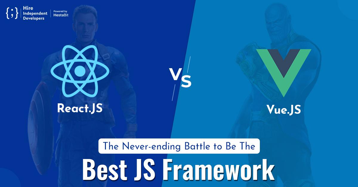 React.js vs. Vue.js