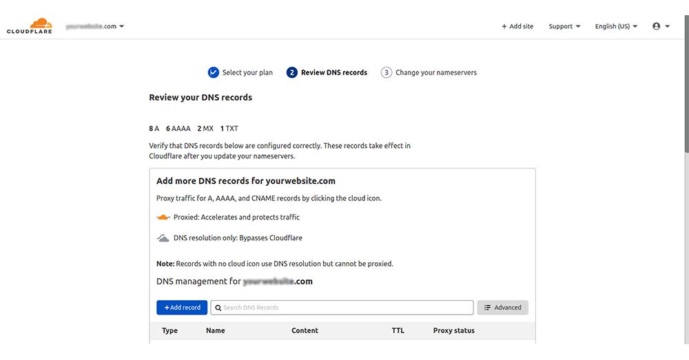 Verify DNS Records