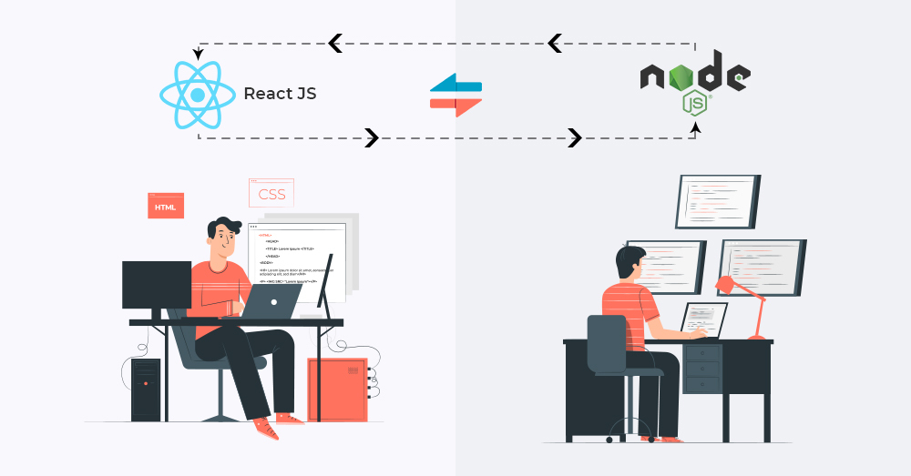 Working of NodeJS with ReactJS