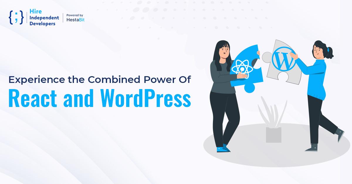 react with WordPress